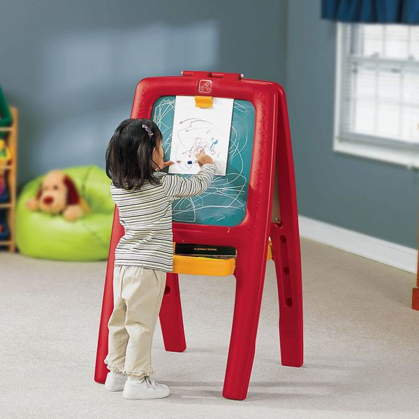 Step2 Easel For Two With Bonus Magnetic Letters and Numbers