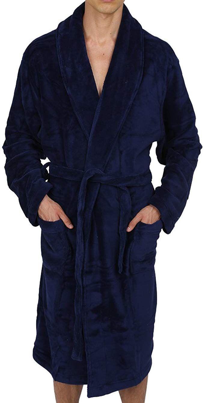 CityComfort Luxury Super Soft Men Dressing Gown Mens Bathrobe