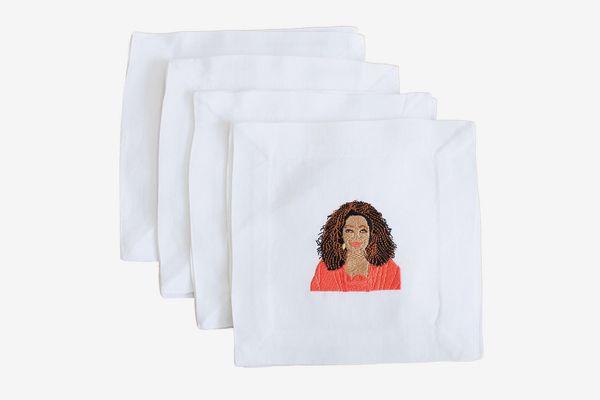 Lettermade Oprah Cocktail Napkins