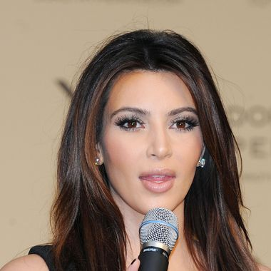 Kim Kardashian attends the photocall to launch the Kardashian Kollection for Dorothy Perkins at Westfield on November 10, 2012 in London, England.