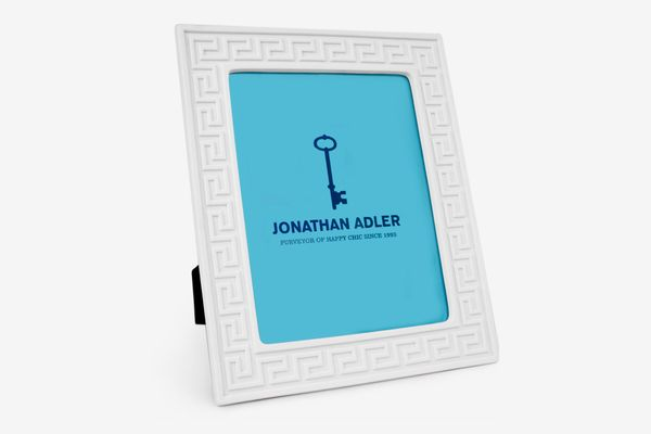 "Jonathan Adler Charade Greek Key 8"" x 10"" Picture Frame"