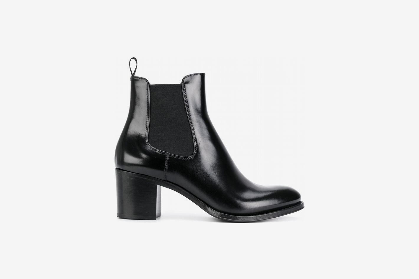 75a85c91d0eb Church s Chunky Heel Chelsea Boots