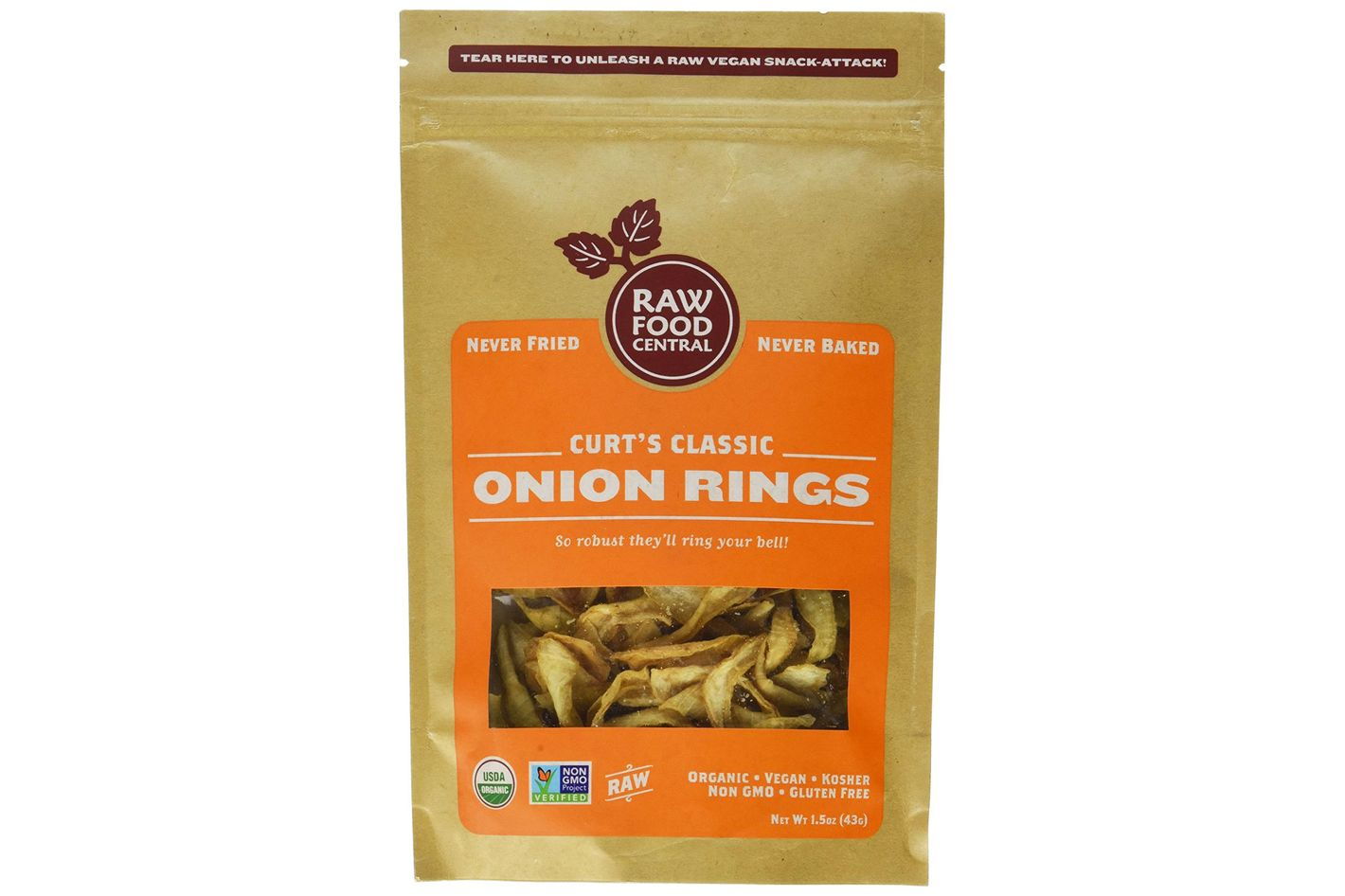 Raw Food Central's Onion Rings