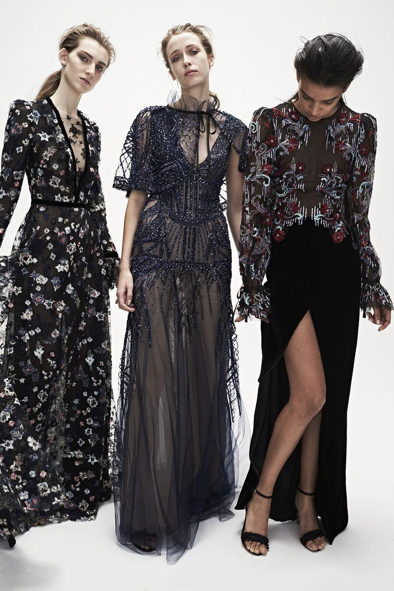 2017 fashion runway - Monique Lhuillier Fall 2017 Rtw The Cut