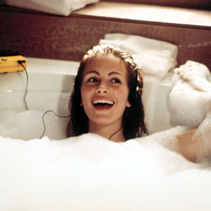 Julia Roberts in <em>Pretty Woman</em>.