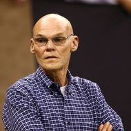 NEW ORLEANS - NOVEMBER 30: Democratic strategist James Carville attends the NFL game between the New Orleans Saints and the New England Patriots at Louisana Superdome on November 30, 2009 in New Orleans, Louisiana. (Photo by Scott Halleran/Getty Images) *** Local Caption *** James Carville
