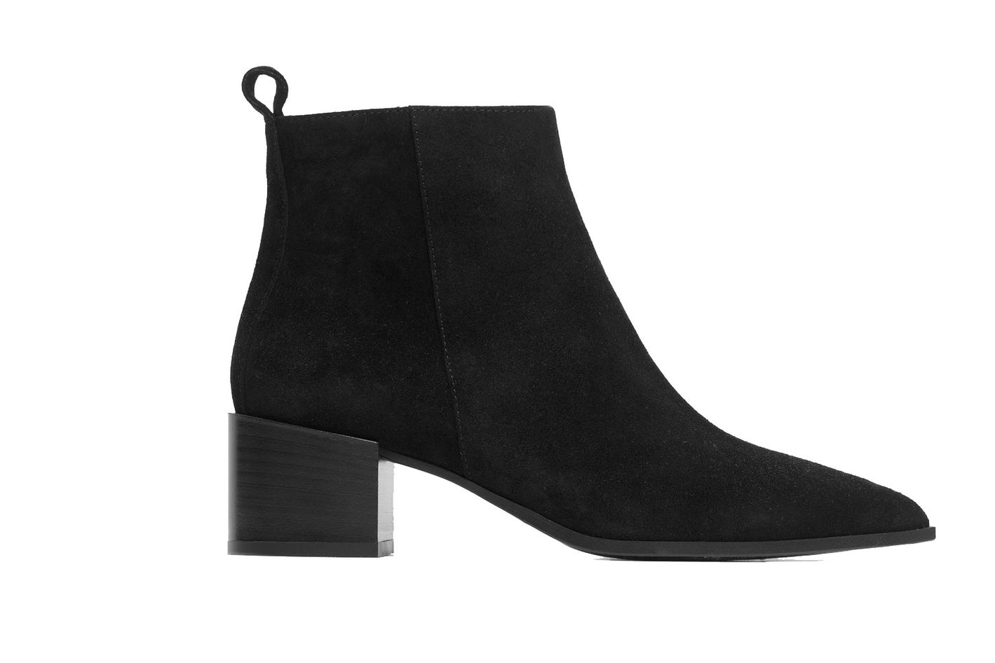 Everlane The Boss Boot in Black Suede
