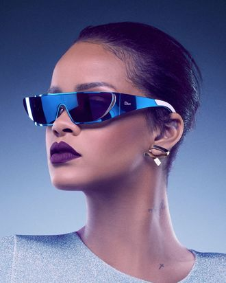 Rihanna wants you to throw shade like her in Dior.