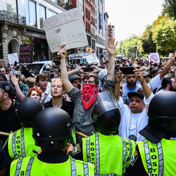 The Boston Rally and the Left's Intolerance of Free Speech