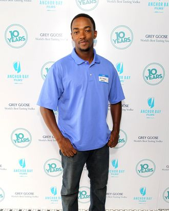 Actor Anthony Mackie attends