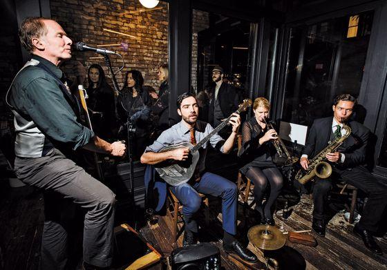 The Baby Soda Jazz Band.