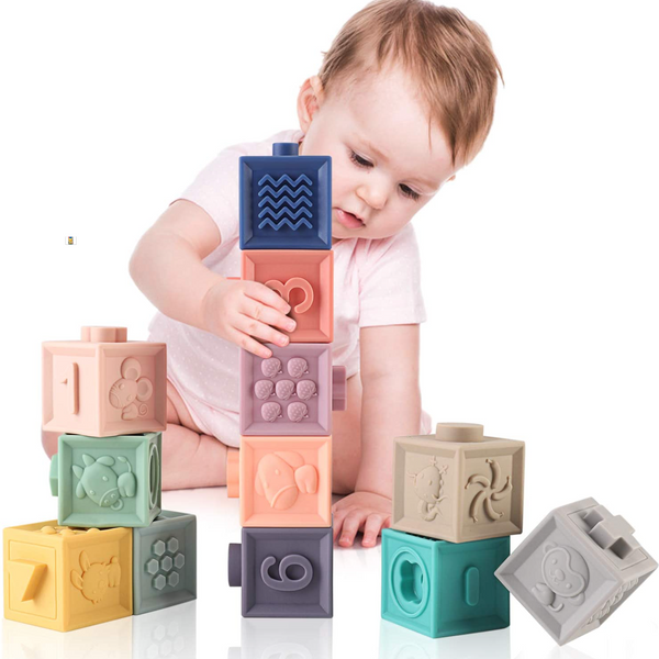 MIXI Soft Blocks for Babies