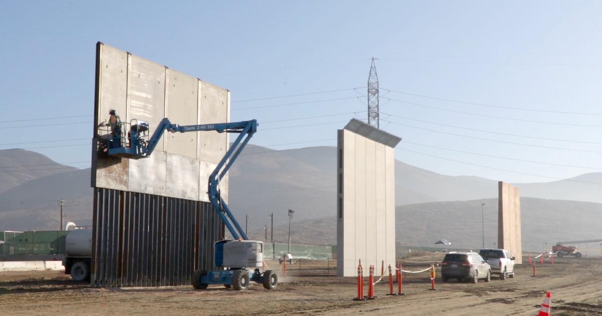 Trump's Border Wall Prototypes Are Minimalist Art