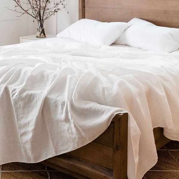 Rough Linen Smooth Sheet Set