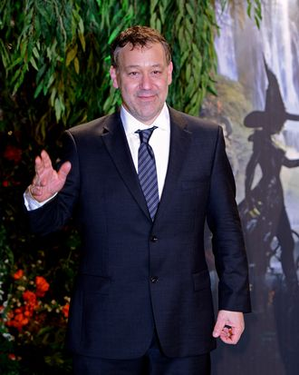 LONDON, ENGLAND - FEBRUARY 28: Director Sam Raimi attends the UK film premiere of Oz: The Great and Powerful at the Empire Leicester Square on February 28, 2013 in London, England. (Photo by Ian Gavan/Getty Images)