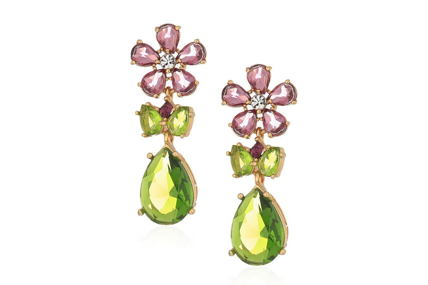 Kate Spade in Full Bloom Cluster Drop Earrings