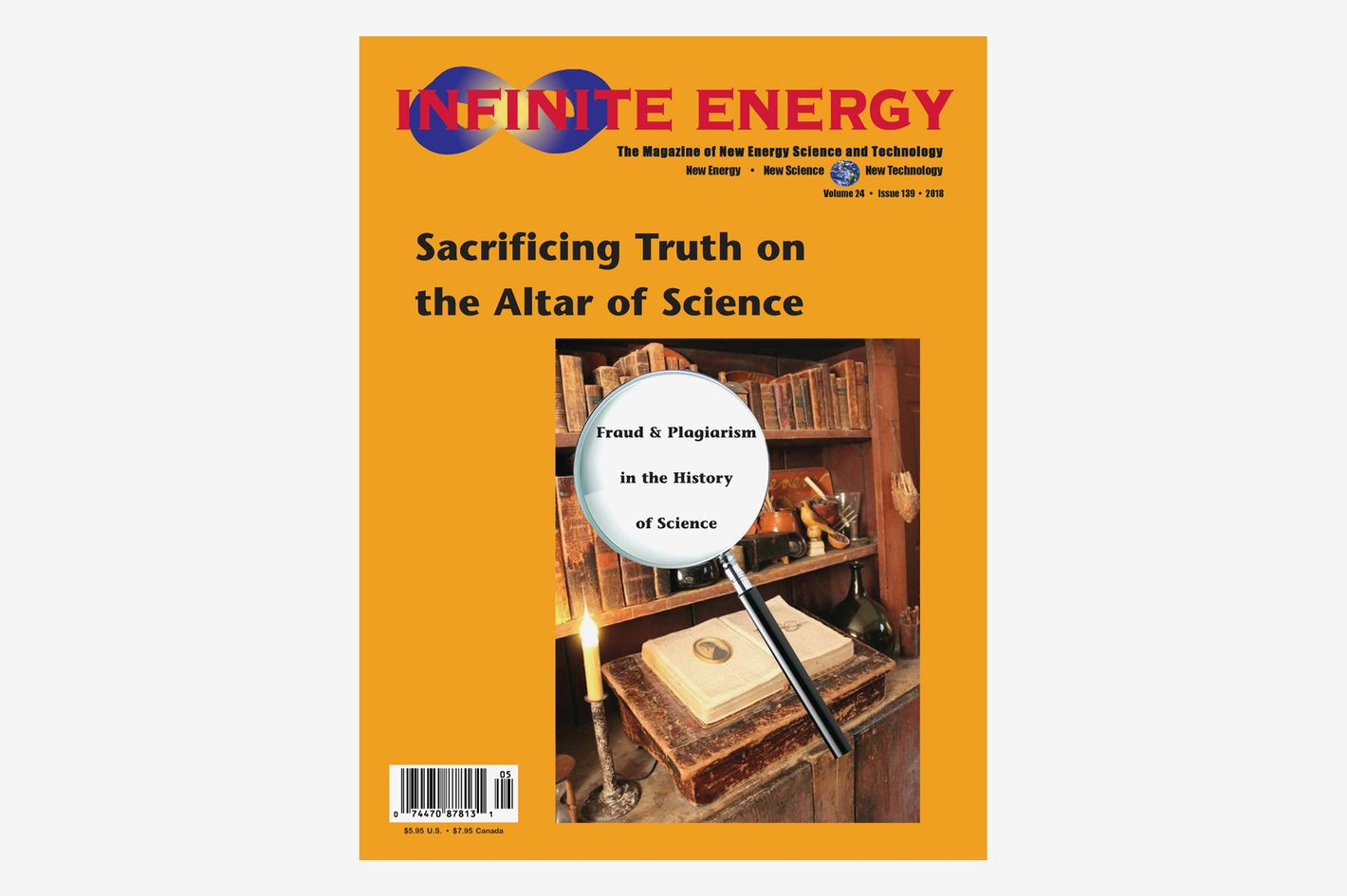 Infinite Energy Yearly Subscription