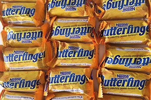 Nestle Butterfinger Fun-Size Small Chocolate Bars, 3 Pounds