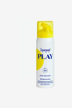 Supergoop! Super Power Sunscreen Mousse With Blue Seakale