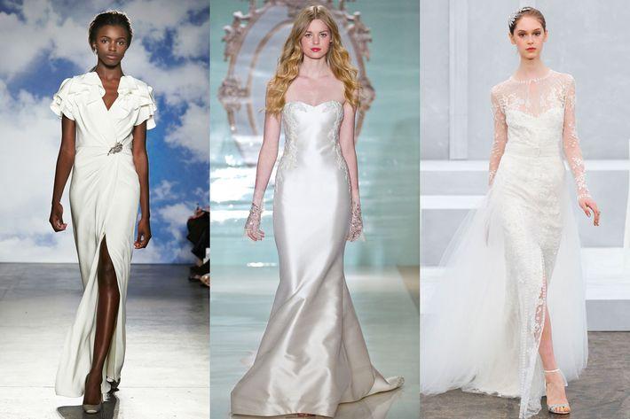 New Spring 2015 Bridal: Reem Acra, Jenny Packham