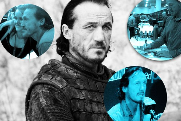 Game of Thrones' Bronn Conquers New York Comic-Con