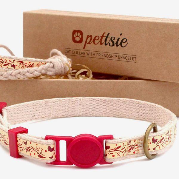 Pettsie Cat Collar With Friendship Bracelet