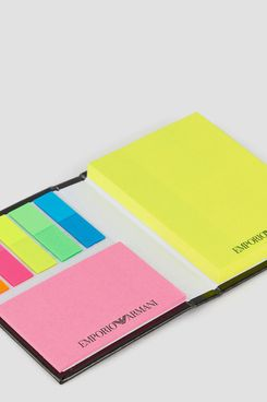 Emporio Armani Notebook With Sticky Notes
