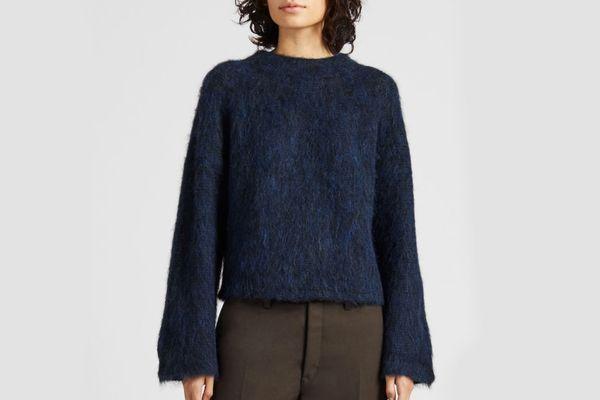 Women U Shaggy Wide-Sleeve Sweater