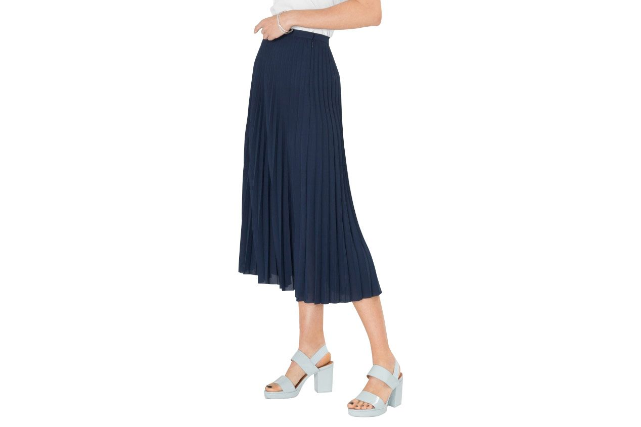 & Other Stories Pleated Midi Skirt