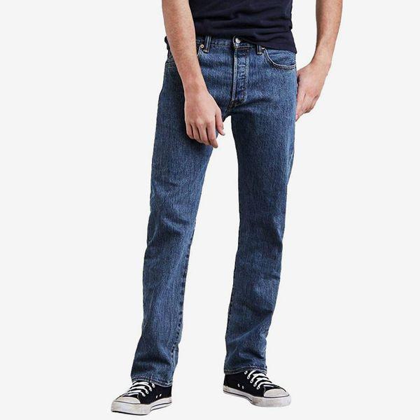 Levi's Men's 501 Jeans, Medium Stonewash