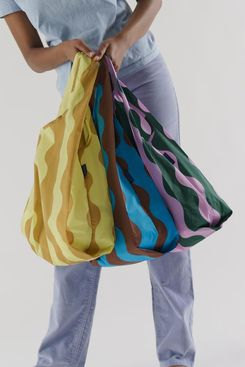 Baggu Standard Printed Ripstop Nylon Totes (Set of 3)