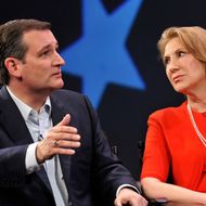 Carly Fiorina Joins Ted Cruz For Campaign Rally In Orlando
