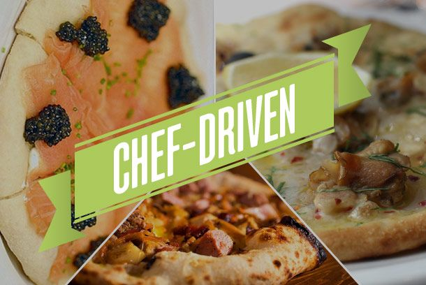 Chefs and non-pizza restaurants are in other categories on this list, but some pizzas' defining feature is their close ties to a big-name chef. And those chefs often can't help but put their own takes on the menu — either by working in high-end techniques and ingredients, nodding to the world of fine dining, or simply selling a top-notch pizza in a white-tablecloth setting. Read on to see for yourself.