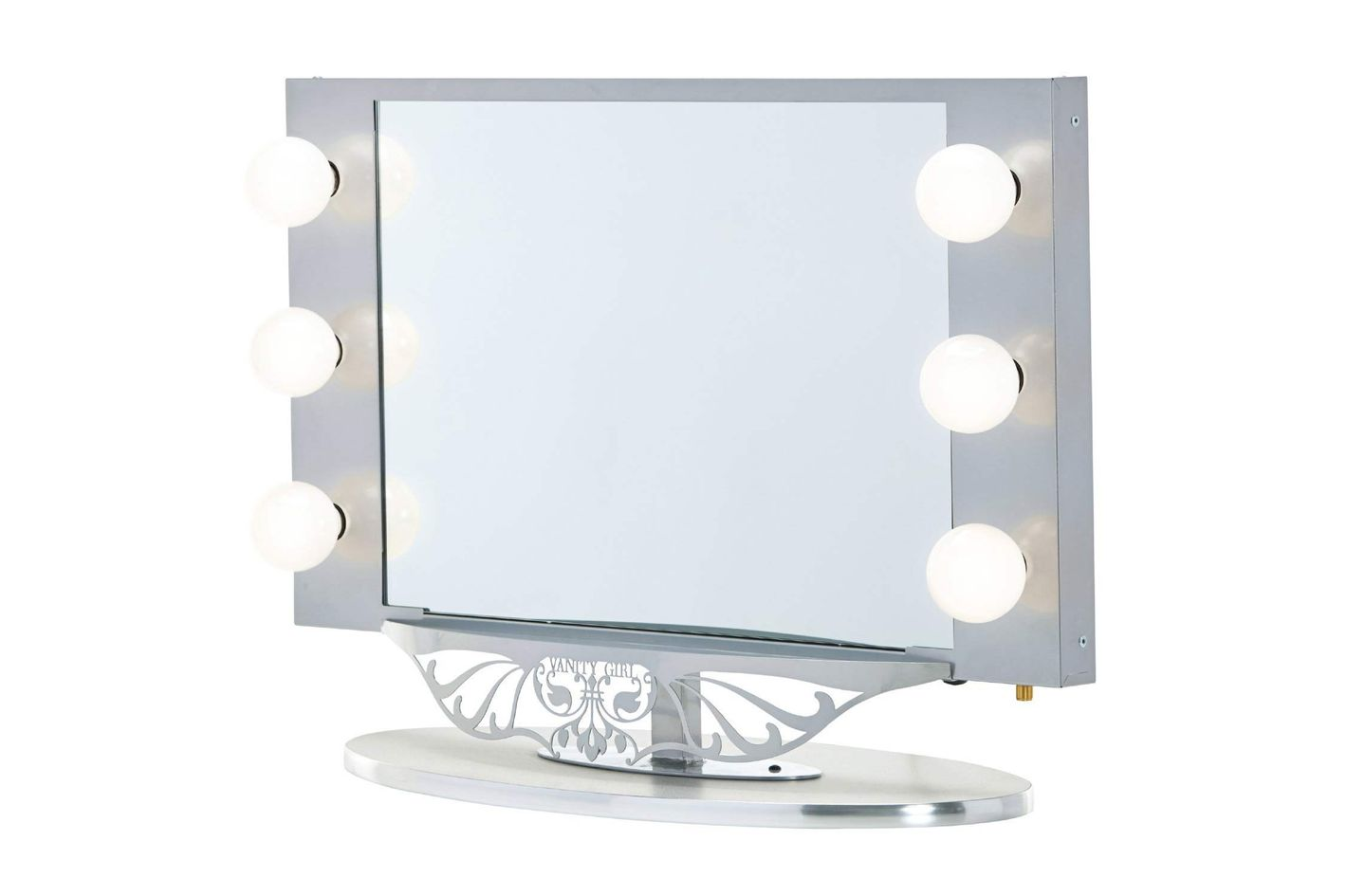 Vanity Girl Hollywood Starlet Lighted Mirror At