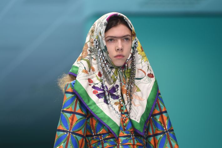 Image result for gucci runway 2018