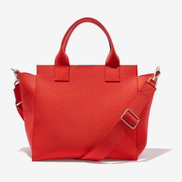 Rothy's The Handbag in Bright Poppy
