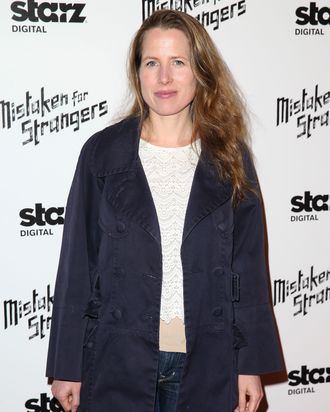LOS ANGELES, CA - MARCH 25: Author/screenwriter Kristin Gore attends the Los Angeles screening of 'Mistaken For Strangers' at The Shrine Auditorium on March 25, 2014 in Los Angeles, California. (Photo by Imeh Akpanudosen/Getty Images)