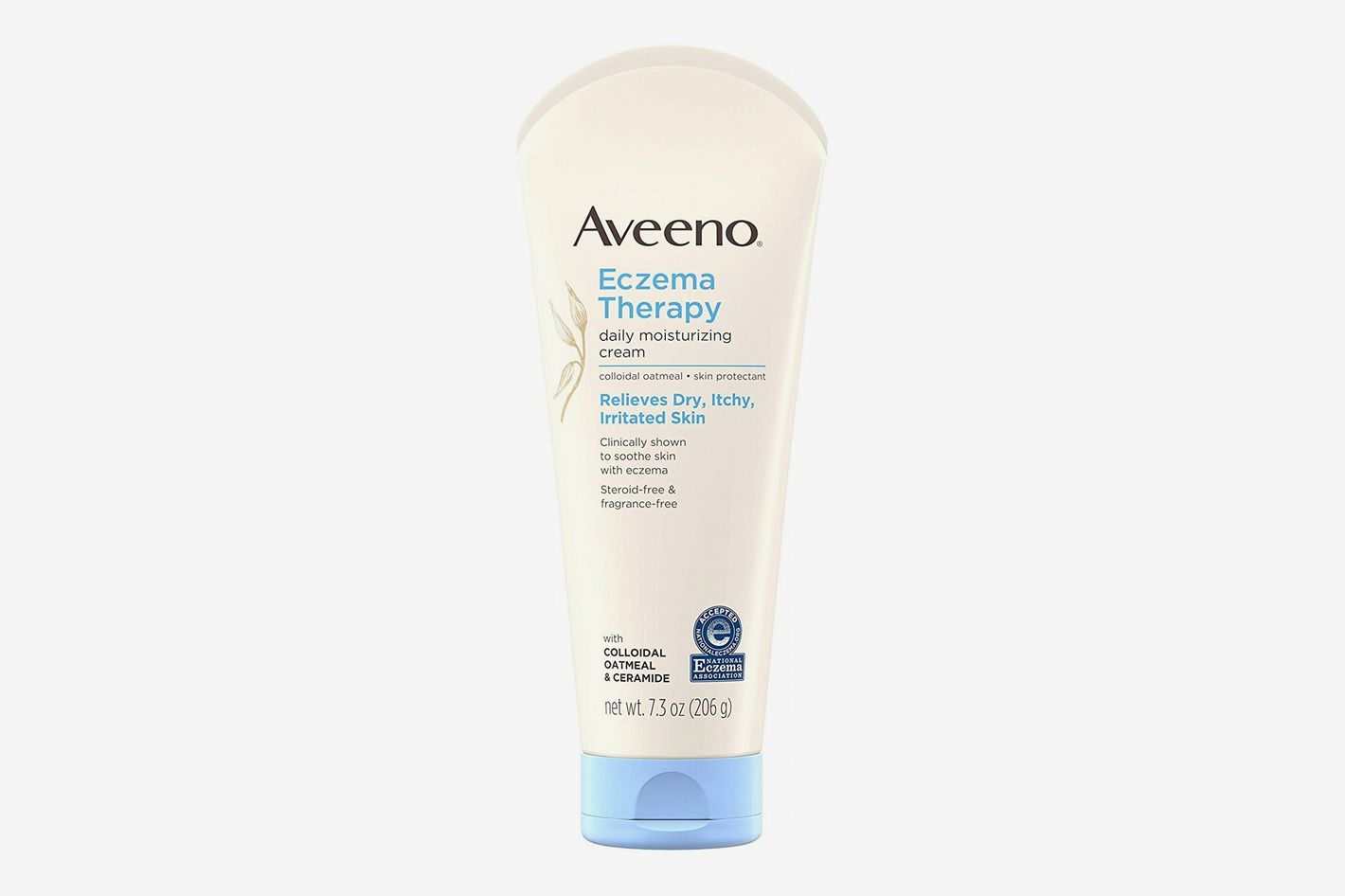 Aveeno Eczema Therapy Daily Moisturizing Cream for Sensitive Skin, Soothing Lotion With Colloidal Oatmeal