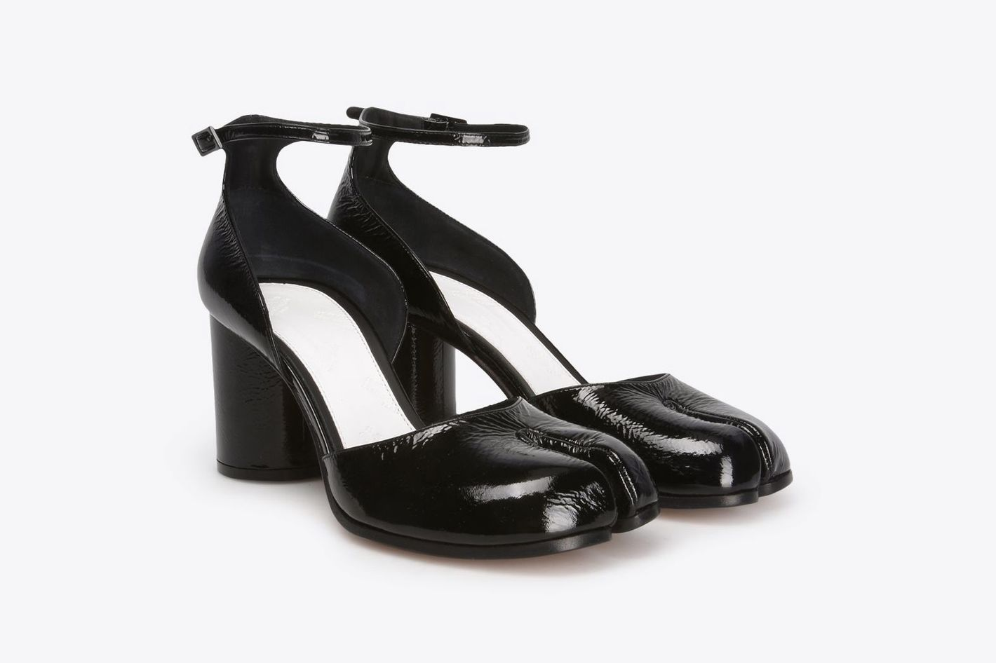 Patent Leather Tabi Pumps