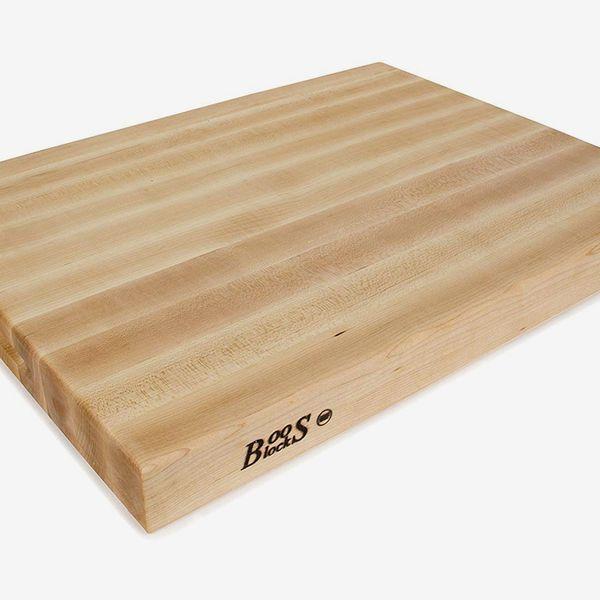 John Boos Block Maple Wood Edge Grain Reversible Cutting Board, 24 Inches x 18 Inches x 2.25 Inches