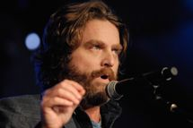 SANTA MONICA, CA - OCTOBER 19:  Actor Zach Galifianakis performs at the Festival Supreme comedy and music festival on the Santa Monica Pier on October 19, 2013 in Santa Monica, California.  (Photo by Michael Tullberg/Getty Images)