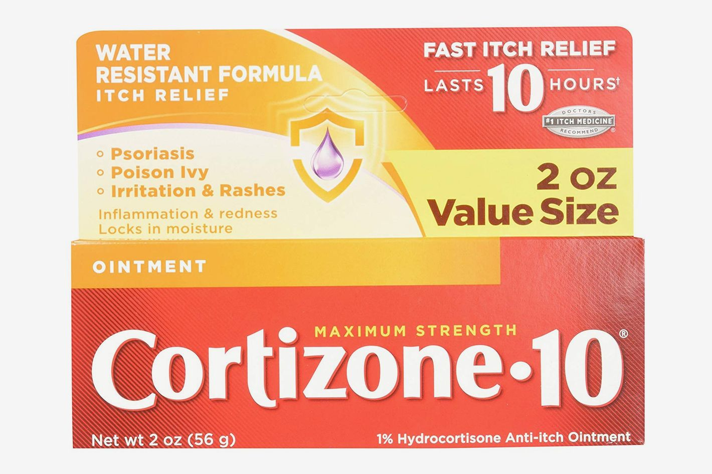 Cortizone 10 Maximum Strength Ointment, 2 Ounce