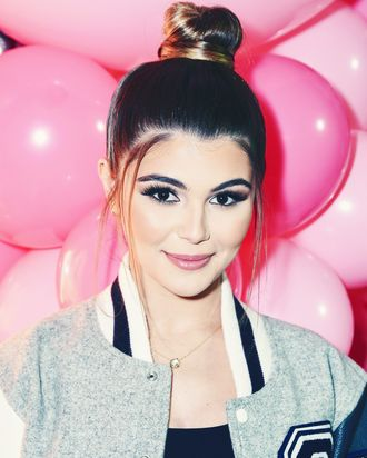Olivia Jade, at the release of her Sephora Collection.