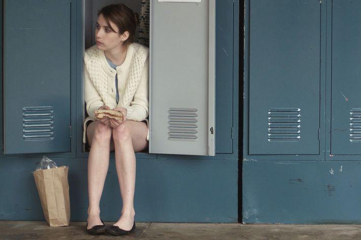 Emma Roberts in <em>Palo Alto</em>