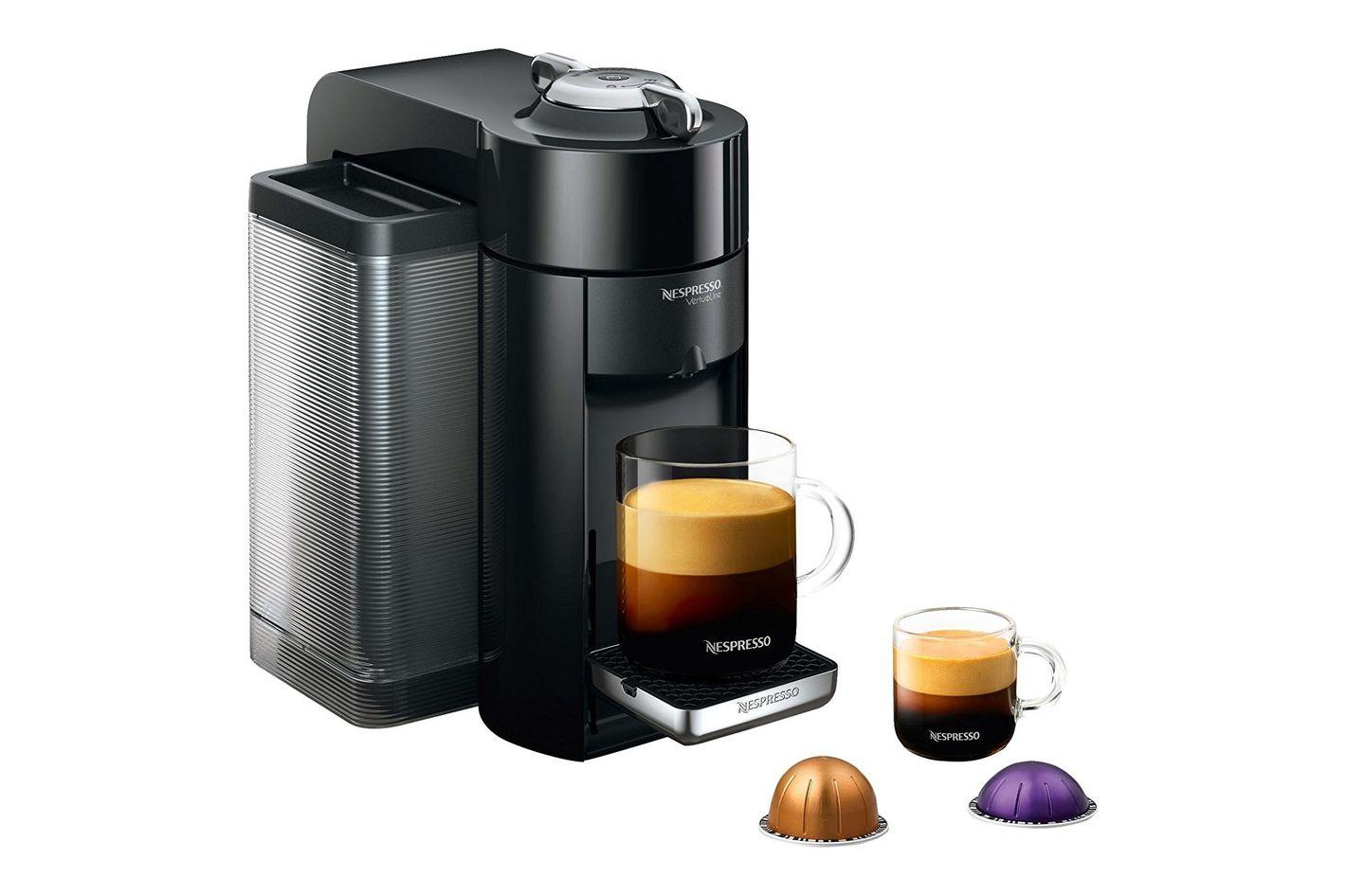 Nespresso GCC1-US-BK-NE VertuoLine Evoluo Coffee and Espresso Maker