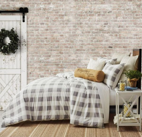 Bee & Willow Home Buffalo Check Comforter Set, Full/Queen
