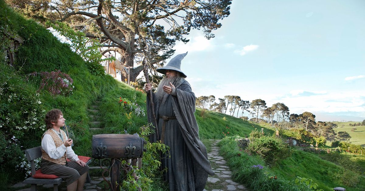 Does The Hobbit and Lord of The Rings relate to each other?