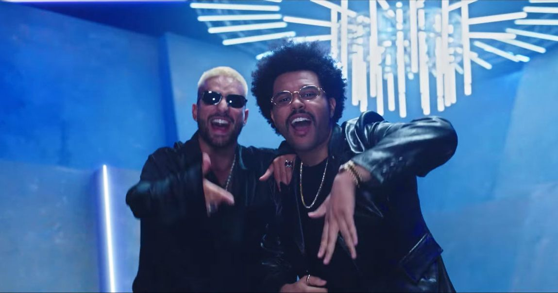 Maluma Taught The Weeknd Spanish, But Not How to Dance - Vulture