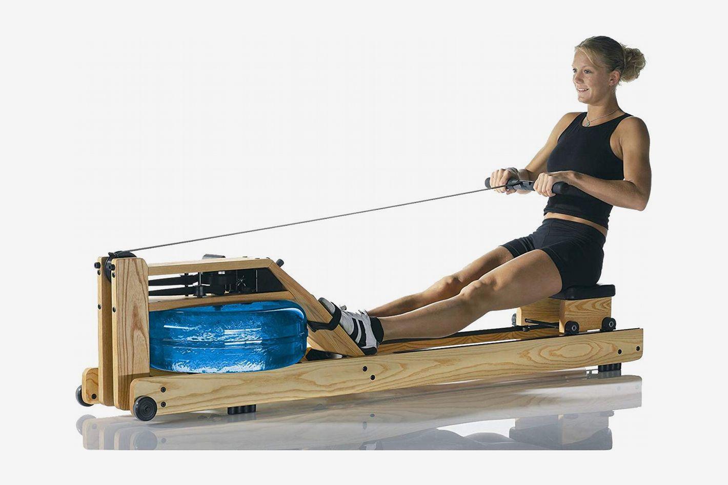 WaterRower Rowing Machine Driftwood With Patented Water Flywheel