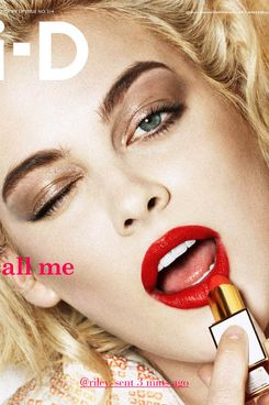 Another <em>i-D</em> cover, this one with Riley Keough.